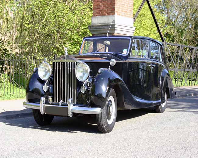 1952 Rolls Royce Silver Wraith in UK