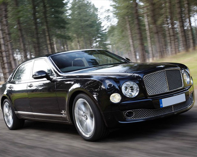 Bentley Mulsanne in UK