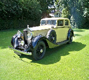 1935 Rolls Royce Phantom in Llangollen