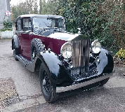 1937 Rolls Royce Phantom in Cefnllys