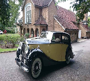 1950 Rolls Royce Silver Wraith in Syston