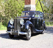 1952 Rolls Royce Silver Wraith in Berwick upon Tweed
