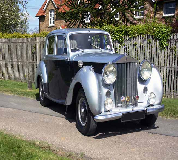 1954 Rolls Royce Silver Dawn in Rainford