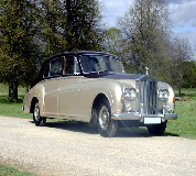 1964 Rolls Royce Phantom in Llangollen