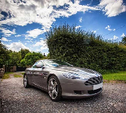 Aston Martin DB9 Hire in Overton on Dee