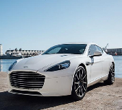 Aston Martin Rapide Hire in Edinburgh