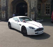 Aston Martin Vantage Hire  in Forres