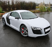 Audi R8 Hire in Huntly