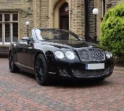 Bentley Continental Hire in Wormit