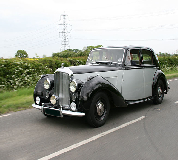 Bentley MK VI Hire in Ollerton