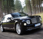 Bentley Mulsanne in Llangollen