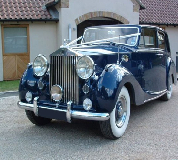 Blue Baron - Rolls Royce Silver Wraith Hire in Burry Port