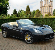Ferrari California Hire in Llanfyllin