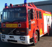 Fire Engine Hire in Menstrie