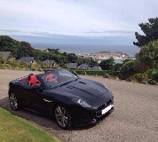 Jaguar F Type Hire in Maud