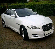 Jaguar XJL in Tranent