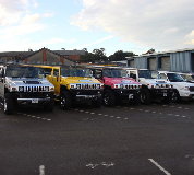 Jeep Limos and 4x4 Limos in Cefnllys