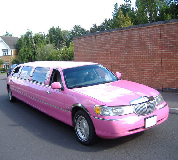 Lincoln Towncar Limos in Golbourne