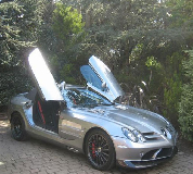 Mercedes Mclaren SLR Hire in Mayfair
