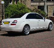 Mercedes S Class Hire in Colne