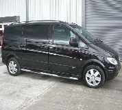 Mercedes Viano Hire in Laugharne