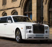 Rolls Royce Phantom Limo in Rhyl