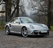 Porsche 911 Turbo Hire in Llanfair Caereinion