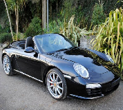Porsche Carrera S Convertible Hire in New Quay