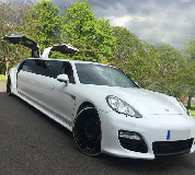 Porsche Panamera Limousine in Anstruther