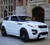 Range Rover Evoque Hire in Lliw Valey
