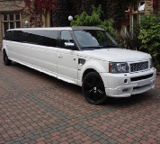 Range Rover Limo in Milngavie