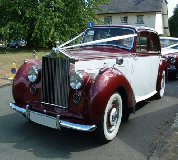 Regal Lady - Rolls Royce Silver Dawn Hire in Bromley