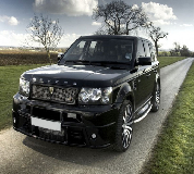 Revere Range Rover Hire in Preston