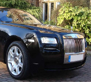 Rolls Royce Ghost - Black Hire in Hebden Royd