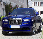 Rolls Royce Ghost - Blue Hire in Portsoy