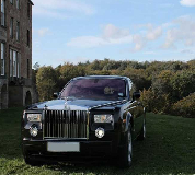 Rolls Royce Phantom - Black Hire in Bromyard