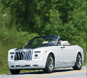 Rolls Royce Phantom Drophead Coupe Hire in North Berwick