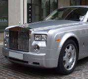 Rolls Royce Phantom - Silver Hire in Llanfair Caereinion