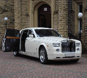 Rolls Royce Phantom Hire in Norton on Derwent