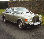 Rolls Royce Silver Spirit Hire in Betws y Coed