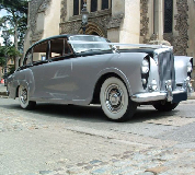 Silver Lady - Bentley Hire in Wymondham