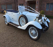 1927 Vintage Soft Top Rolls Royce in Newbiggin by the Sea