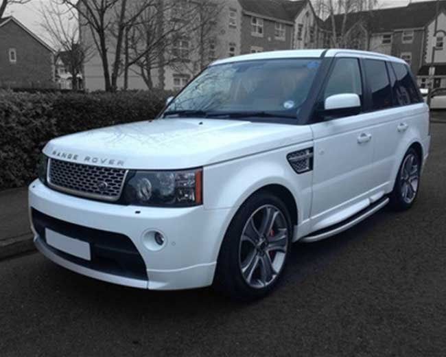 Range Rover Sport Hire  in UK