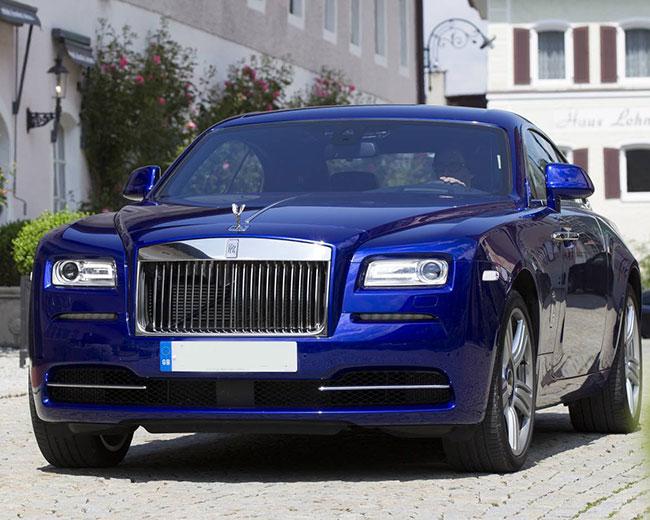 Rolls Royce Ghost - Blue Hire in UK