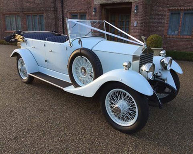 1927 Vintage Soft Top Rolls Royce in UK
